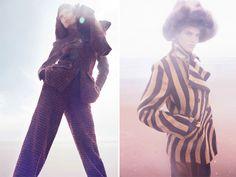 From Here To Eternity - Vogue China Sept 2014 via Visual Optimism)  Anastasia Barbieri · Ken O'Rourke · Polly Osmond · Saskia de Brauw · Solve