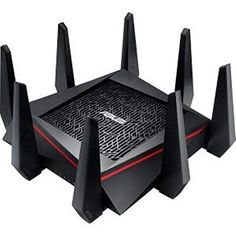 Cheap ASUS Tri-Band 4 x 4 Gigabit Wireless Gaming Router (AiProtection Trend Micro Free WTFast Game Accelerator Link Aggregation Adaptive QoS Router App Support Dual-WAN Support) – Black deals week Router Ups, Gaming Router, Vpn Router, Best Wireless Router, Best Router, Wifi, Fritz Box, Trend Micro, Information Technology