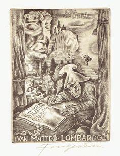 Ex Libris by Michel FINGESTEN