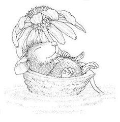 Maxwell is floating along, enjoying a lovely Spring day in this darling House Mouse Designs® image from the pen of Ellen Jareckie. Image measures approximately 3 Colouring Pics, Coloring Book Pages, House Mouse Stamps, Cartoon House, Mouse Color, Punch Needle Patterns, Colored Pencil Techniques, Scripture Cards, Cute Mouse