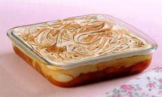 Torta gelada de banana                                                                                                                                                                                 Mais