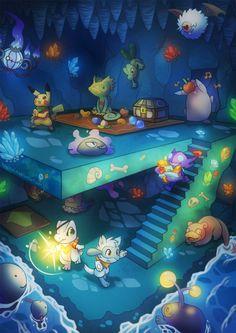 haychelda: Pokemon super mega ultra Mystery Dungeon remix infinity X yay~~ <3 Pokemon web-comic: >>> Tales of Elysium <<<