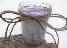 Hand Poured Lilac Scented Chunk Soy Wax Candle  8 by curiouscarrie, $12.00