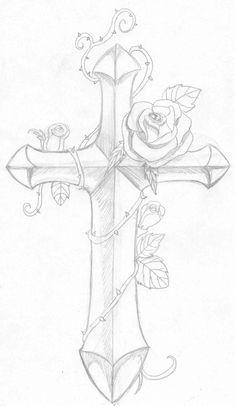 Tribal Tattoo Ideas for Shoulder And Chest Celtic Cross Tattoos, Cross Tattoo For Men, Tribal Tattoos For Men, Trendy Tattoos, Tattoos For Guys, Traditional Tattoo Script, Traditional Tattoo Flowers, Filipino, Cross Coloring Page