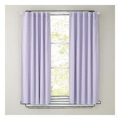 Polka Dot Blackout Curtains (Lavender) (£35) ❤ liked on Polyvore featuring home, home decor, window treatments, curtains, blackout curtains, lavender blackout curtains, blackout curtain panels, lilac curtains and dot curtains