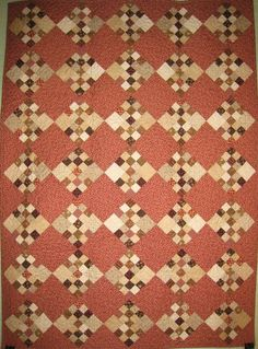 Pink & Brown love- Thistle Bee Quilt Shoppe