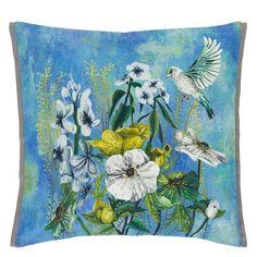 Masson Azure Throw Pillow.  LOVE!