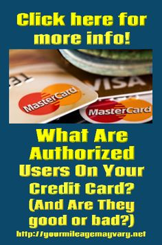 Authorized User On Credit Cards Good Bad Blog Cards Ads
