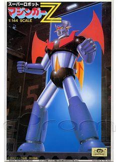 Super Robot Mazinger Z im Maßstab 1:144 (http://www.cyram-entertainment.de/shop/products/Modellbau/Anime-Manga/Roboter-Mecha/Super-Robot-Mazinger-Z.html)