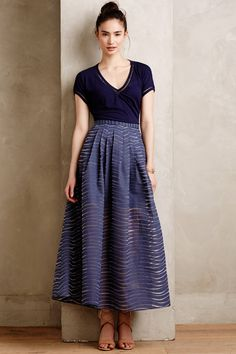 Pacific Waves Maxi Skirt  by Stella & Jamie