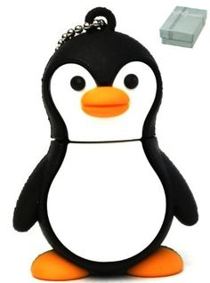 Happy Antarctica Penguin Bird keychain Animal Collection 4GB USB Flash Drive - in Gift box - with GadgetMe Brands TM Stylus Pen by GadgetMe Brands, http://www.amazon.com/dp/B009RGOJS2/ref=cm_sw_r_pi_dp_ZBiwsb0DX9N6A