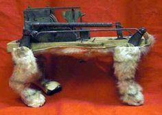 Clockwork dog automation.