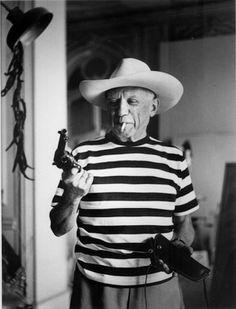 Its Pablo Picasso's Birthday today! He was born 25, 1881 in Malaga, Spain.