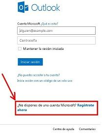 Registrarse Hotmail | Iniciar Sesion Hotmail