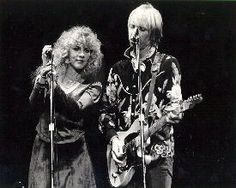 Stevie and Tom.  Stevie has said the Heartbreakers was the only band she might've ever considering leaving FM for-