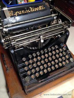 Máquina de escribir Hispano Olivetti M20- 1920