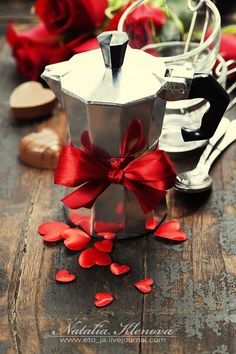 Valentine's day composition with coffee by Natalia Klenova on 500px