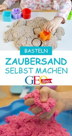 We make magic sand with you. So you can play great inside and . Wir stellen mit euch Zaubersand her. Damit könnt ihr prima drinnen spielen und … We make magic sand with you. So you can play and dig inside! it Yourself Diy Décoration, Easy Diy, Diy For Kids, Crafts For Kids, Craft Activities For Kids, Craft Ideas, Pot Mason Diy, Jouer, Bottle Crafts