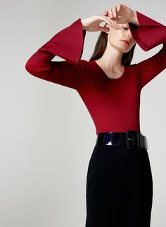 Plated sweater - View all - Knitwear - Ready to wear - Uterqüe United Kingdom