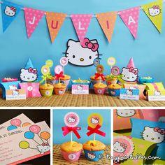 Hello Kitty party printable