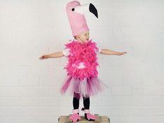 Divertente FLAMINGO DONNA COSTUME abito per donna Rosa Uccelli Costume Costume Animale