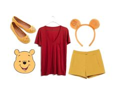 Some perfect last minute Halloween costumes, including Winnie the Pooh.