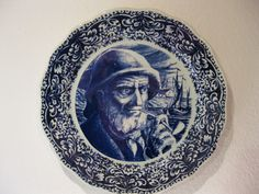 Boch freres, La Louviere, Belgium. motifs: sailor with whistle. for a Magnificent and rare blue wall plate from Belgium. The wall plate is in a good original condition. Take a look at the plate and make your own opinion of their condition. | eBay!
