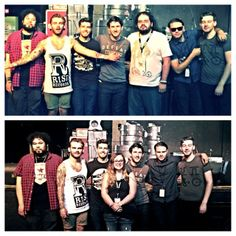 Get to meet and see dance gavin dance tomorrow its going to be great ( William Swan, Tilian Pearson,Matthew Mingus, Josh Benton, Jonathan Mess, and Tim Feerick ) all my favorite people in the world for making such damn fine music thank you! Tyler Russell
