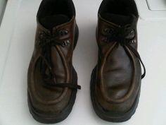Los zapatos de Henrique para ir a votar ;)