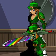 How to be a leprechaun!
