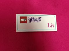 Lego friends party!