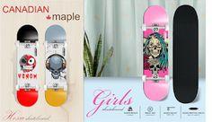Skateboard Price, Skateboard Online, Buy Skateboard, Skateboards For Sale, Complete Skateboards, Venom Girl, Kids Online, Skateboarding, India