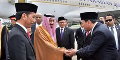 Jokowi Kurang Etis ajak Ahok Ikut Sambut Raja Salman