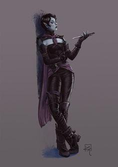 ArtStation - Dark elf rogue, Loles Romero