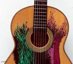 esta es mi guitarra.