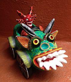Devil Themed Pottery, Ocumichu, Michoacan, Mexico