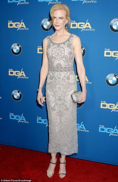 Making an entrance! On Saturday night, Nicole Kidman (pictured) stunned at the 69th Directors Guild of America Awards at The Beverly Hilton Hotel