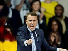 It is Emmanuel Macron, not Marine Le Pen, who will come to be known as France's answer to Donald Trump Which party does Macron represent? He doesn't. He has created his own party, 'En Marche!'. Where does it fit into the political spectrum? It doesn't. Nor was Trump very different in this regard. Before running he had given money to both the Republicans and the Democrats