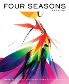 Four Seasons magazine cover art from fall 2011        #FourSeasons #magazine