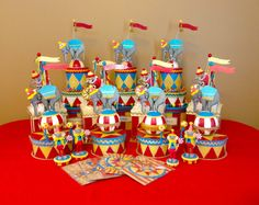 Colorful and charming, the circus theme party is always a favorite!