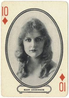 Mary Anderson (28 June 1897 – 22 June 1986) was an American actress, who appeared in 77 silent films between 1914 and 1923. Daughter of actress Nellie Anderson
