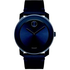 Movado Bold Stainless Steel & TR90 Composite Strap Watch