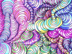 Op Art Bumps - student work
