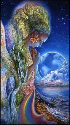 Artwork by Josephine Wall (published on fb/blog)