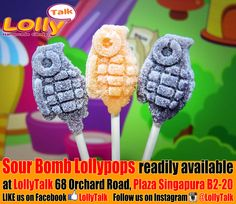 #supersour #sourbomb #LollyTalk #lollipops #lollypops #handmade #candy #rockcandy #Singapore #bestcandy