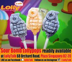 #supersour #sourbomb #LollyTalk #lollipops #lollypops #handmade #candy #rockcandy #Singapore #bestcandy