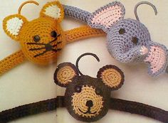 9 Nine Vintage Crochet Baby Hanger Patterns by MAMASPATTERNS