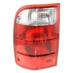 Taillight Tail Light Lamp Ford Ranger Left Driver Dorman 1610204 1L5Z13405BA #Dorman