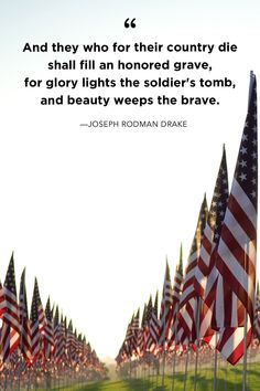 Moving Memorial Day Quotes That Honor America's Fallen Heroes - Page 4 of 31 - QuotesPost Diy Image, Memorial Day Quotes, Patriotic Quotes, Patriotic Party, Patriotic Crafts, July Crafts, Patriotic Decorations, Moment Of Silence, Fallen Heroes