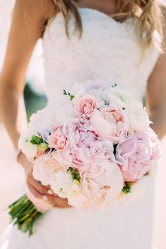 18 pink wedding bouquets to fall in love with 7 More